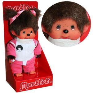 PELUCHE Kiki - Monchhichi - Sporty fille 20cm Doll