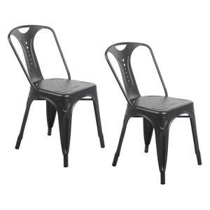 Chaises industriel achat vente chaises industriel pas for Chaise zons