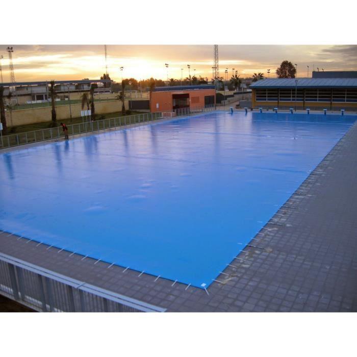 B ches d 39 hiver pour les piscines 2x5 m avec ancrages et for Piscine 2x5