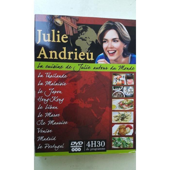 La cuisine de julie autour du monde en dvd documentaire - Julie cuisine le monde ...