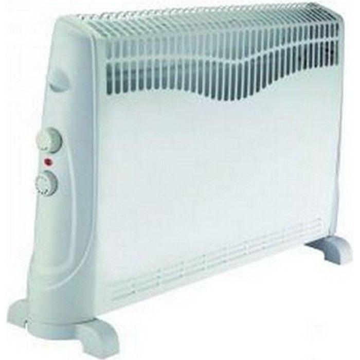 convecteur chauffage electrique radiateur 2000w achat vente chauffage d 39 appoint cdiscount. Black Bedroom Furniture Sets. Home Design Ideas