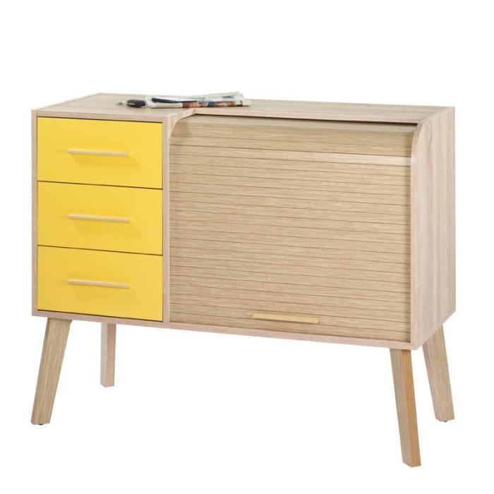 Meuble d 39 entr e rideau 3 tiroirs arkos n 6 achat vente meuble d 39 entr e meuble d 39 entr e - Meuble a rideau ...