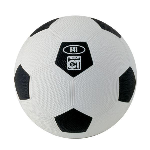 ballon football caoutchouc taille 3 blanc noir prix pas cher cdiscount. Black Bedroom Furniture Sets. Home Design Ideas