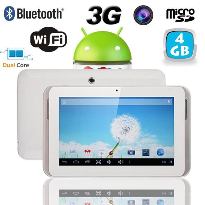 tablette tactile 3g android 4 2 9 pouces gsm gp achat. Black Bedroom Furniture Sets. Home Design Ideas