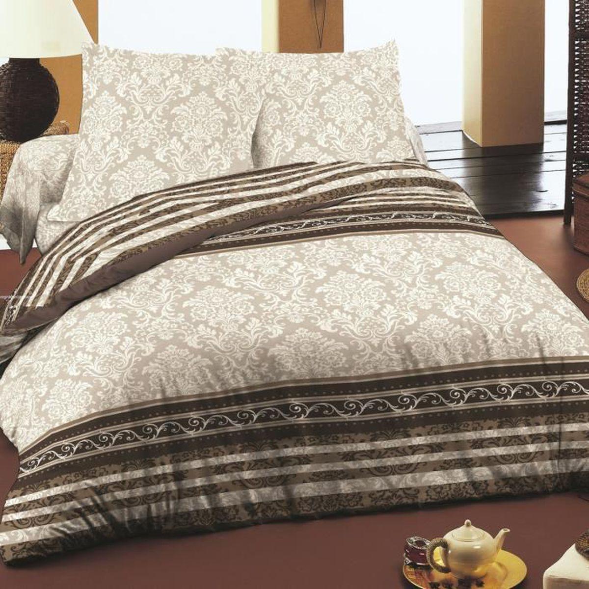 rococo soulbedroom 100 coton parure de lit housse de couette 200x200 cm 2 taies d 39 oreiller. Black Bedroom Furniture Sets. Home Design Ideas