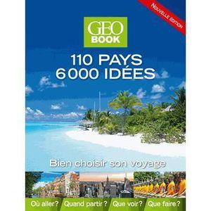 LIVRE TOURISME MONDE 110 pays, 6000 idées