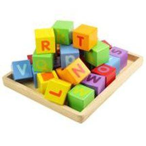CUBE ÉVEIL Cubes alphabet