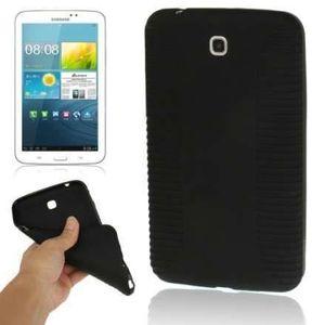 COQUE - HOUSSE Etui - coque TPU Noir pour Samsung Galaxy Tab3 ...