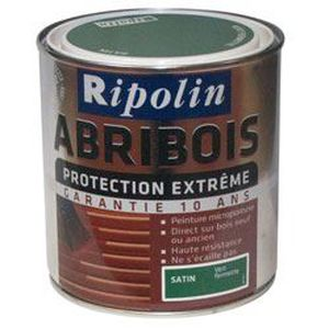 Ripolin rip abribois 0 5l bleu atlantique achat vente peinture vernis cdiscount for Peinture sur vernis bois