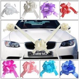 Deco voiture mariage Kits ruban argent - Achat / Vente décoration de ...