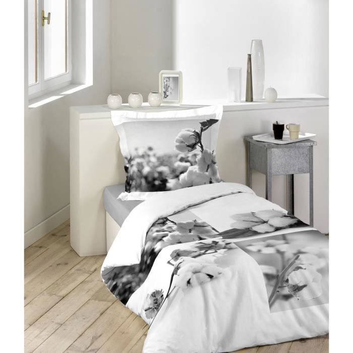 parure de couette 100 coton 140x200 koltes achat vente parure de couette cdiscount. Black Bedroom Furniture Sets. Home Design Ideas