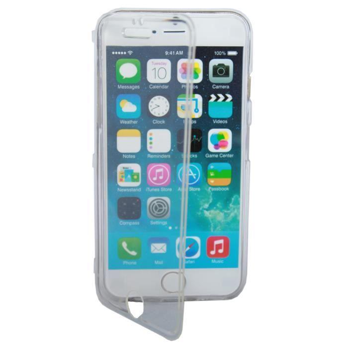 Etui housse coque gel rabat iphone 6 plus achat coque for Coque cdiscount