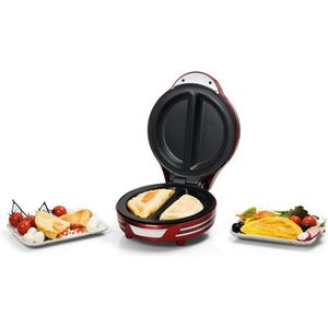 ARIETE 182 Appareil ? omelette - 700W - Rouge