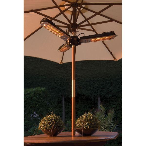 Chauffage de terrasse 2000w pour pied de parasol achat - Chauffage electrique exterieur pour terrasse ...