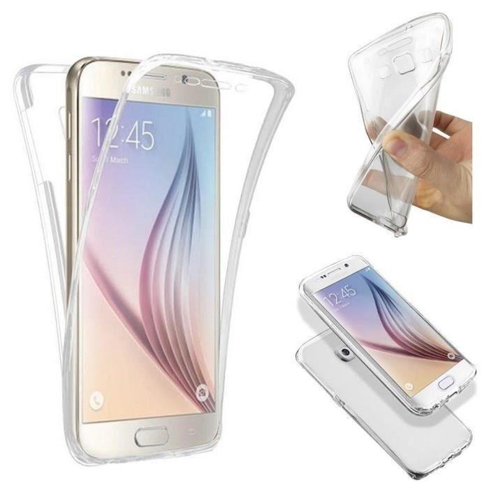 Coque Silicone Gel Integral Iphone  S Transparent