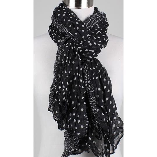 petit foulard noir femme 904869347d5