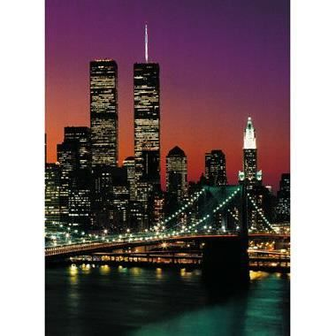 Photo murale de new york 4 panneaux coller 183 x 254 for Decoration murale new york