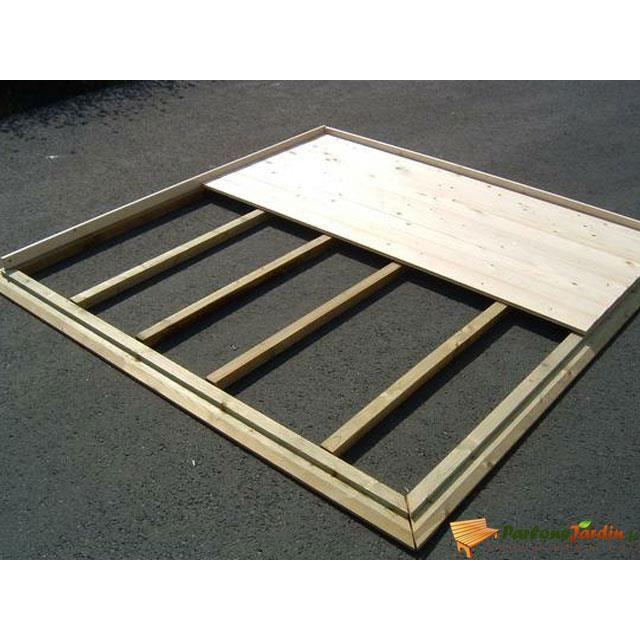 Plancher en bois pour abri de jardin en bois 24 achat for Plancher pour abri de jardin