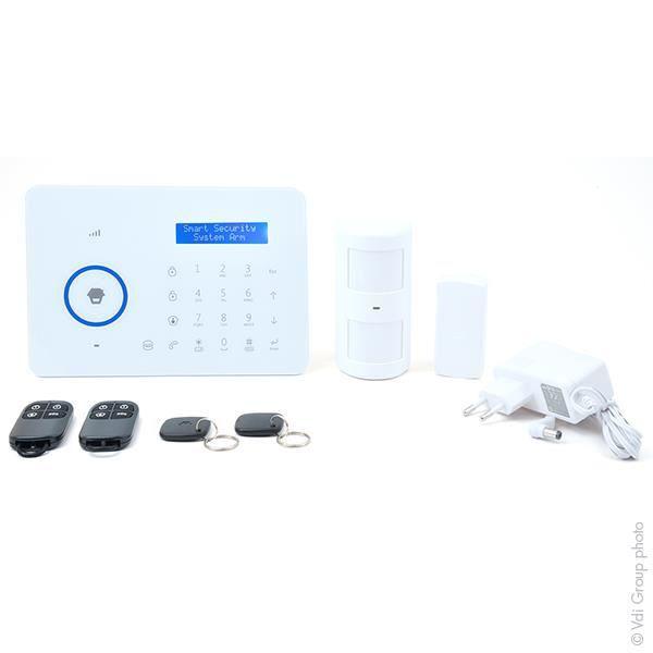 Chuango kit syst me d 39 alarme gsm pstn pour 1 2 pi ces for Systeme d alarme pour piscine
