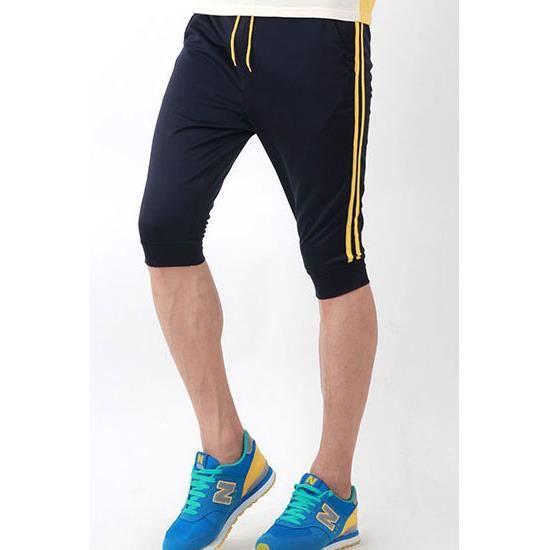 pantacourt short homme sport short style jogging pour les hommes achat vente short. Black Bedroom Furniture Sets. Home Design Ideas