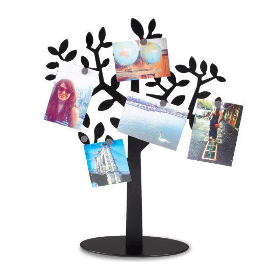porte photos umbra arbre aimant laurel noir achat vente porte photo cdiscount. Black Bedroom Furniture Sets. Home Design Ideas