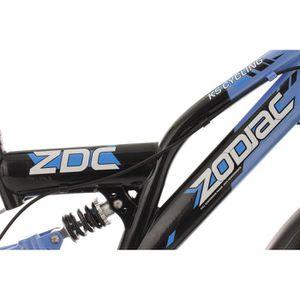VTT enfant 20'' Zodiac bleu TC 31 cm