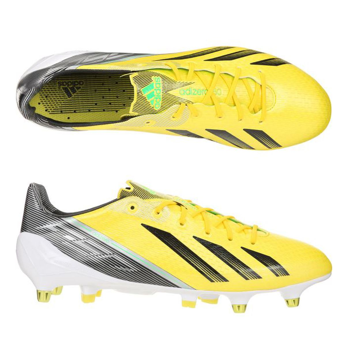 adidas chaussures foot f50 adizero sg prix pas cher soldes cdiscount. Black Bedroom Furniture Sets. Home Design Ideas