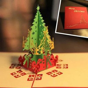 STAGE DE PILOTAGE joyeux noël arbre coupe papier laser 3d des cartes