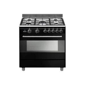 Cuisiniere a gaz 90cm achat vente cuisiniere a gaz - Piano de cuisson noir ...