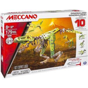 ASSEMBLAGE CONSTRUCTION MECCANO Dinosaures 10 Modèles