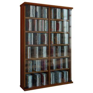 colonne range cd achat vente colonne range cd pas cher cdiscount. Black Bedroom Furniture Sets. Home Design Ideas