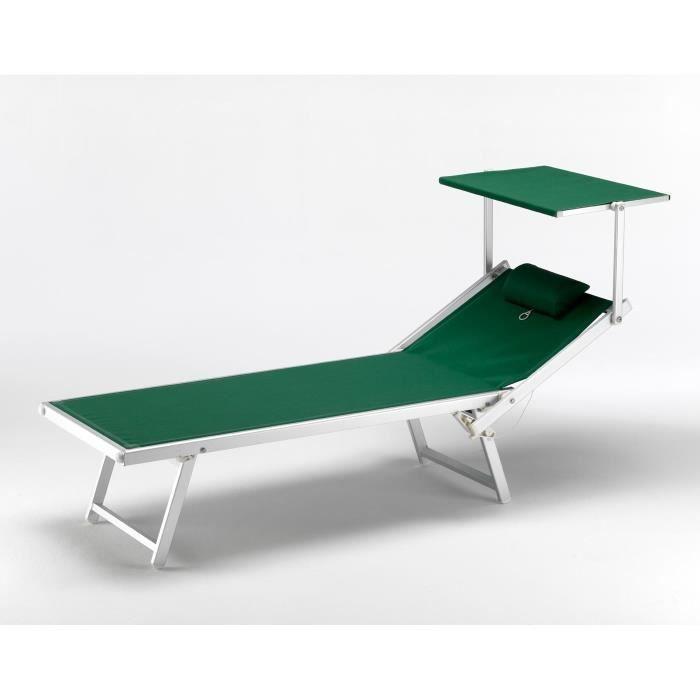 Bain de soleil professionnel lit de plage chaise longue for Chaise longue de piscine