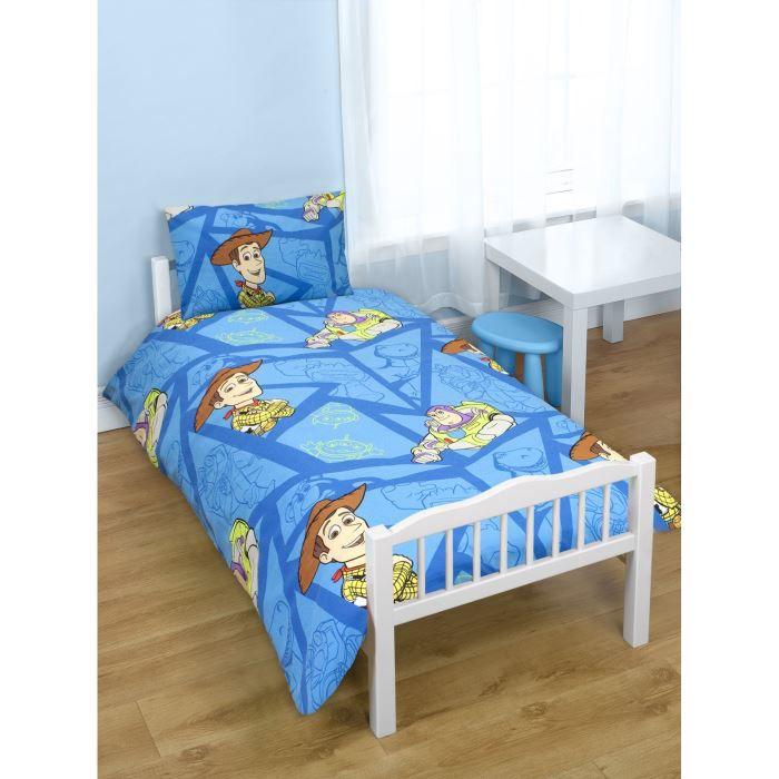 Pack literie toy story disney couette oreiller parure de lit achat vente pack linge de - Housse de couette toys story ...