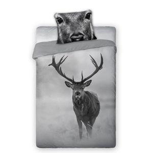 housse de couette animaux achat vente housse de couette animaux pas cher soldes cdiscount. Black Bedroom Furniture Sets. Home Design Ideas