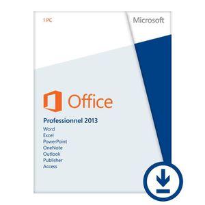 LOGICIEL À TÉLÉCHARGER Microsoft OFFICE PRO 2013 - A Télécharger