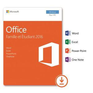 Logiciels t l charger achat vente logiciels t l charger pas cher soldes cdiscount - Office famille et etudiant 2013 1 pc ...