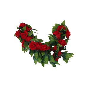 Guirlande de fleurs artificielles achat vente for Soldes fleurs artificielles
