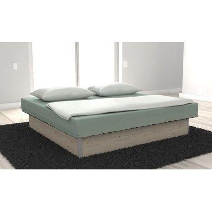 lit a eau open confort dual 160x200 couleur pin achat. Black Bedroom Furniture Sets. Home Design Ideas