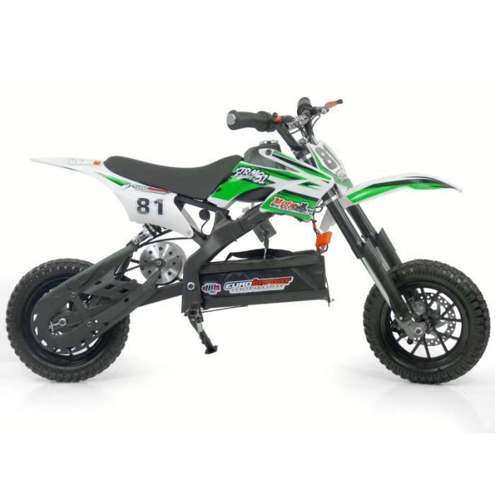 moto electrique enfant vert achat vente jeux et jouets pas chers. Black Bedroom Furniture Sets. Home Design Ideas