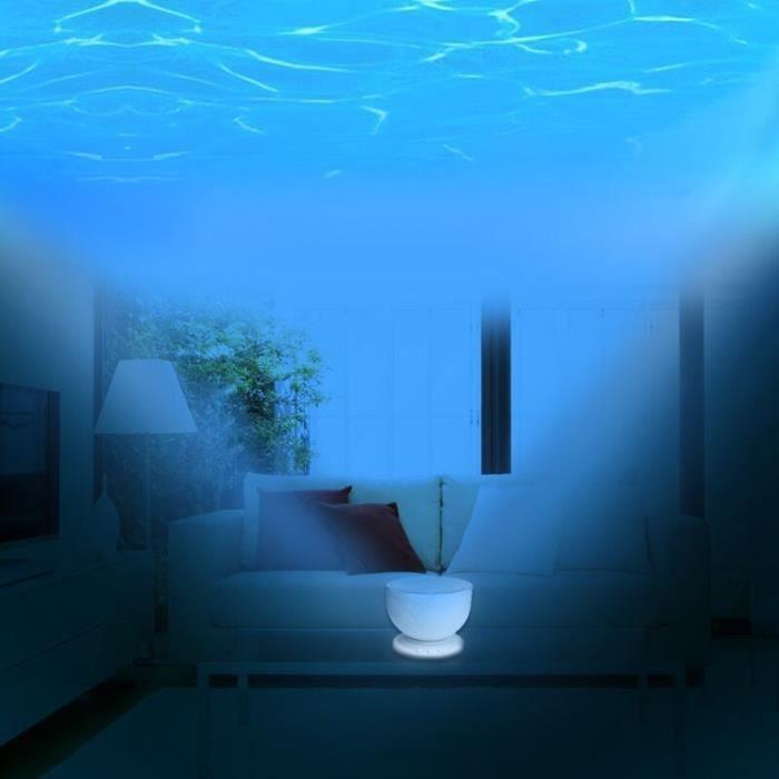 lampe projecteur de vagues luminaire d 39 ambiance zen et originale lampe pour enfant originale. Black Bedroom Furniture Sets. Home Design Ideas