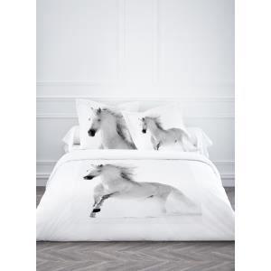 Housse de couette et 2 taies d 39 oreiller p gase achat - Housse de couette motif cheval ...