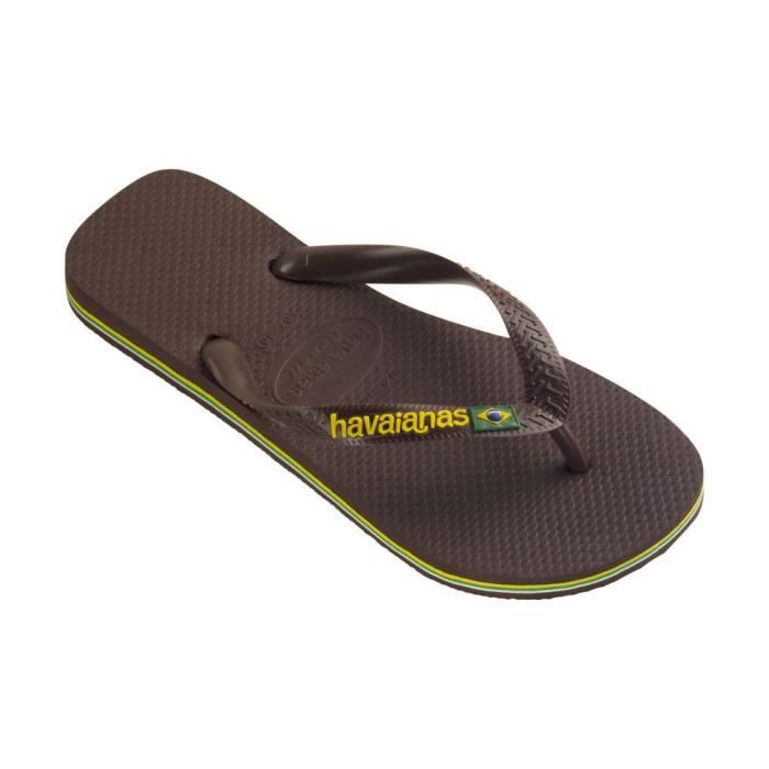 tongs havaianas brasil logo noir achat vente tong tongs havaianas brasil logo soldes. Black Bedroom Furniture Sets. Home Design Ideas