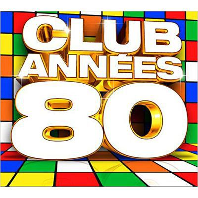 club annees 80 compilation 5cd achat cd cd compilation pas cher. Black Bedroom Furniture Sets. Home Design Ideas