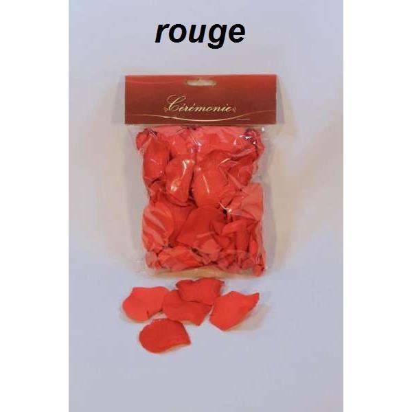 120 p tales de rose artificielle rouge achat vente d cors de table cdiscount. Black Bedroom Furniture Sets. Home Design Ideas