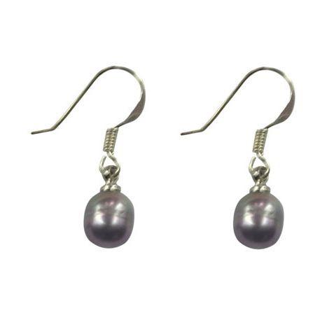 boucles d 39 oreilles perle noire sur crochets en argent 925 achat vente boucle d 39 oreille. Black Bedroom Furniture Sets. Home Design Ideas