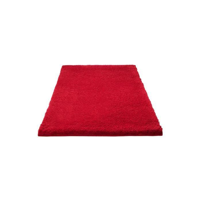 Esprit tapis de bain event rouge 60x100 cm achat vente for Tapis rouge avec canapé 145 cm