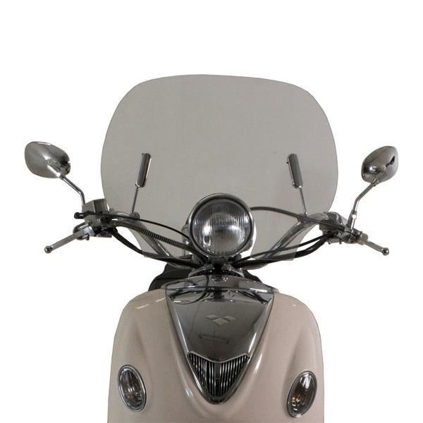 scooter pare brise pour direct bikes 50cc retro db50qt a achat vente bulle saute vent. Black Bedroom Furniture Sets. Home Design Ideas