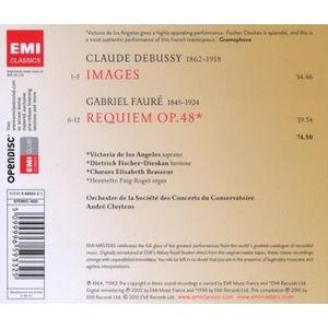 cd Fauré : Requiem ; Debussy : Images [CD] Cluyten