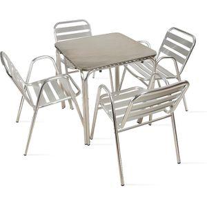 Ensemble table carree et chaises achat vente ensemble table carree et chaises pas cher - Salon de jardin table et chaises mulhouse ...