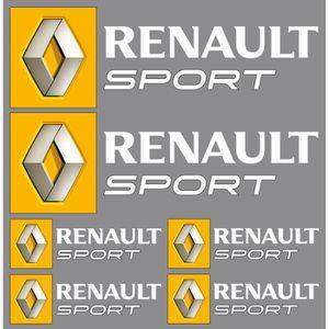 logo renault sport achat vente logo renault sport pas cher cdiscount. Black Bedroom Furniture Sets. Home Design Ideas